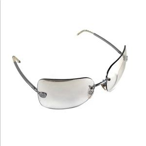 Chanel Silver Sunglasses